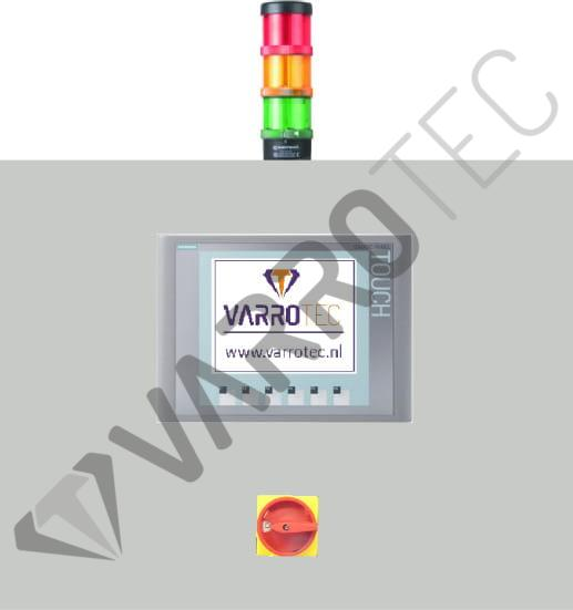 VarroTec B.V. Products Cold-End control panel